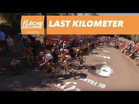 Last Kilometer  - La Flèche Wallonne Femmes 2018