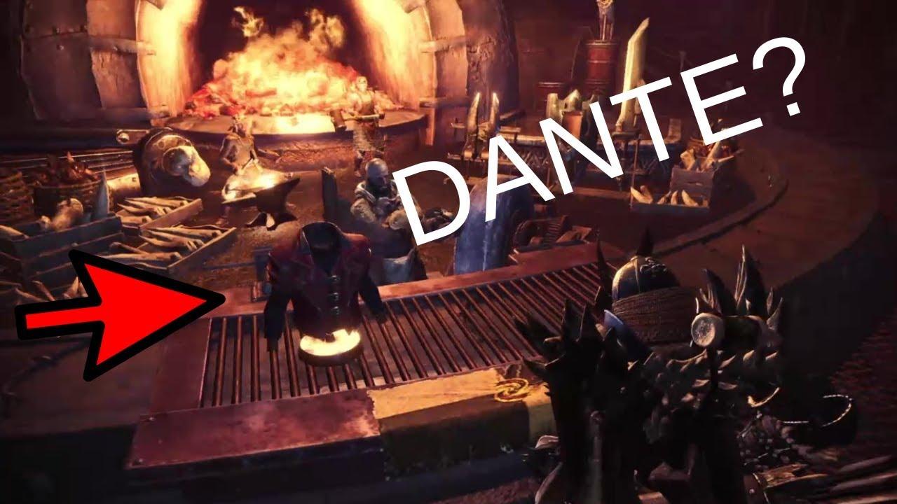 How To Get Dante's Armor In Monster Hunter World (January 2019)