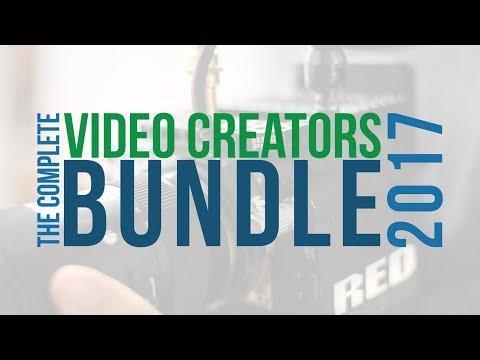 The 2017 Complete Video Creators Bundle Promotion Video