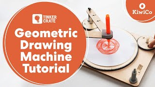Repeat youtube video Build a Geometric Drawing Machine
