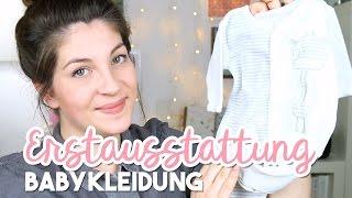 WAS BRAUCHE ICH WIRKLICH? | Erstausstattung Babykleidung & Textilien