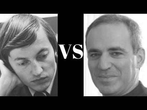 World Chess Championship Game: Anatoly Karpov vs Garry Kasparov - 1984 - Game 3 - Sicilian Defense