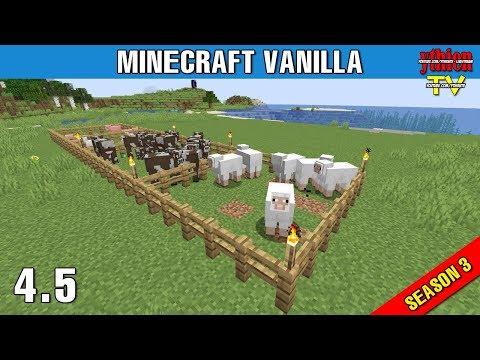 Minecraft Vanilla Livestream S03E4.5 - Đi Tìm Gia Súc