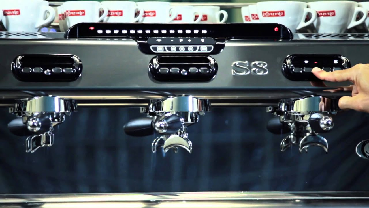 la spaziale coffee machines the s8 s9 series youtube. Black Bedroom Furniture Sets. Home Design Ideas