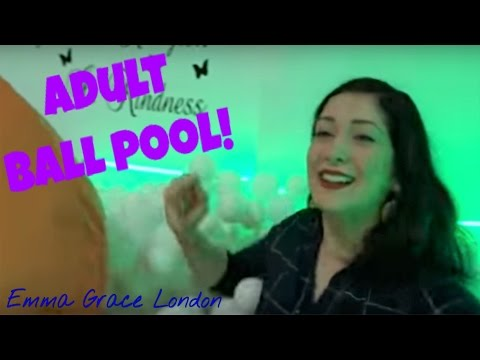 ADULT BALL POOL! The Winter Happiness Festival | Emma Grace London