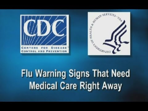 Flu Warning Signs That Need Medical Care Right Away