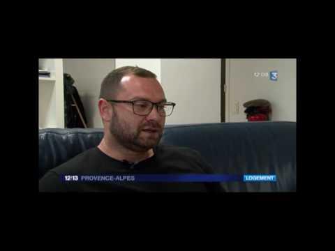 Des logements pour protéger des bureaux vacants à Marseille - Reporte 12/13 France3