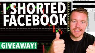 I SHORTED A LARGE CAP STOCK! $FB $NVDA