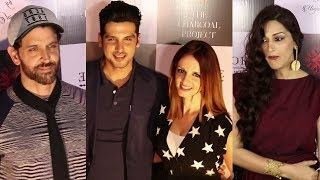 Hrithik Roshan With Ex Wife Sussanne Khan At The Launch Of Bespoke Home Jewels By Minjal Jhaveri