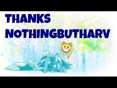 Thanks nothingbutharv!