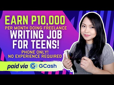 Earn with your Phone as a Homebased Research Writer Job for Teens!