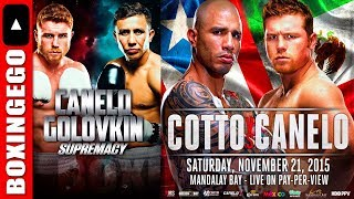 GGG BEGS CANELO FOR BETTER % SPLIT, CANELO RESPECTED COTTO NOT GGG - THE DIFFERENCE EGO SCHOOLING
