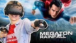 SUPERMAN SIMULATOR IN VIRTUAL REALITY | Megaton Rainfall VR (HTC Vive Gameplay)