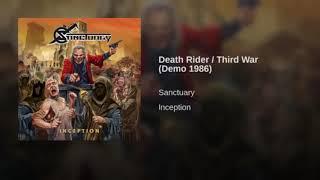 SANCTUARY - INCEPTION  4 - Death Rider - Third War (Demo 1986)