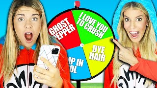 Extreme Truth or Dare in Best Friend Halloween Costumes! Rebecca Maddie Challenges