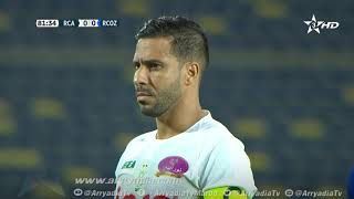 الرجاء الرياضي 1-0 سريع وادي زم هدف محسن متولي من نقطة الجزاء في الدقيقة 82.