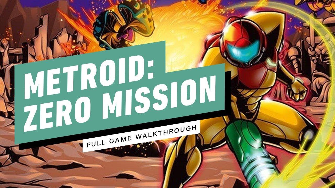Metroid Zero Mission Full Gameplay Walkthrough