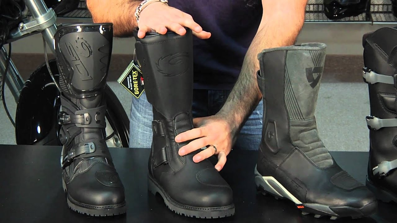 Motorcycle Adventure & Dualsport Boot Guide 2011 at RevZilla.com ...
