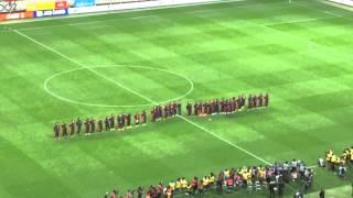 2014Jリーグ最終節 浦和レッズ対名古屋グランパス 試合後セレモニー