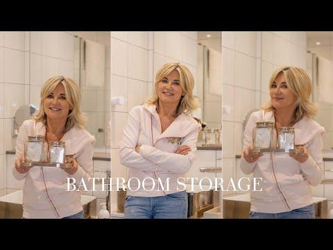 Bathroom Storage Tips | Anthea Turner