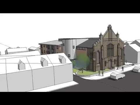 St. Paul's Church CGI Model