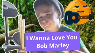 I wanna love you-bob marley (drum cover) Nemo Ld