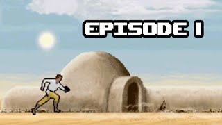 Playthrough sur Star Wars Trilogy: Apprentice of the Force - Episode 1 [GBA]