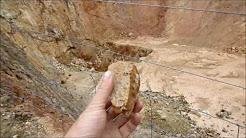 open cut mine near Dunolly Victoria