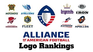 AAF Logo Rankings