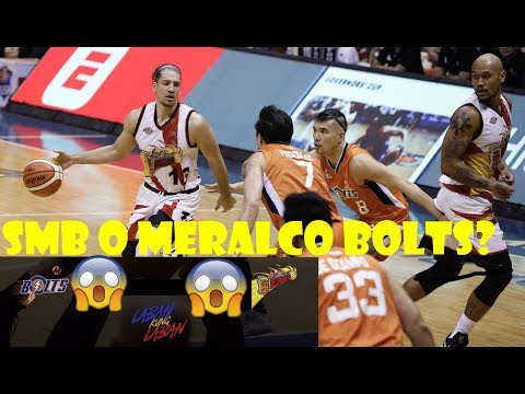 SAN MIGUEL BEERMEN VS MERALCO BOLTS  FULL GAME HIGHLIGHTS | PBA PHILIPPINE CUP 2019