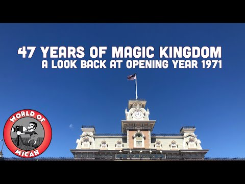 47 years of Magic Kingdom | A look back at opening year 1971! (WORLD OF MICAH)