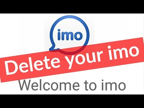 How To Deactivate/Delete Imo Account Permanently On Android Mobile & Remove From All Devices-2019