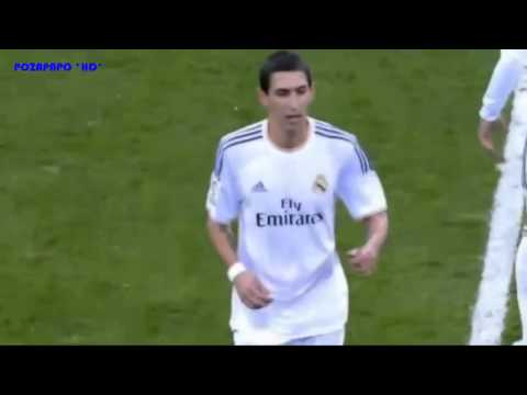 Di Maria´s Rude Gesture To Howling Real Madrid Fans after Being Substituted   Nasty   Obscene   2014