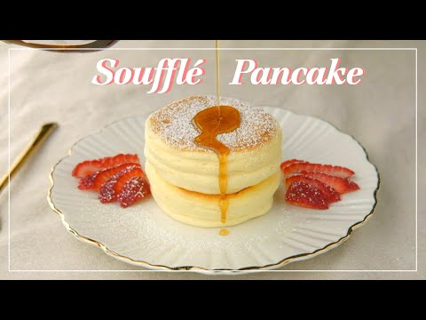 souffle-pancake-|-japanese-fluffy-pancakes-|-step-by-step-instructions-|-スフレパンケーキの作り方