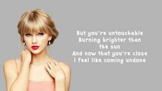 Taylor Swift   Untouchable - Lyrics