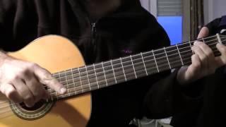 урок на гитаре, кавказский бой