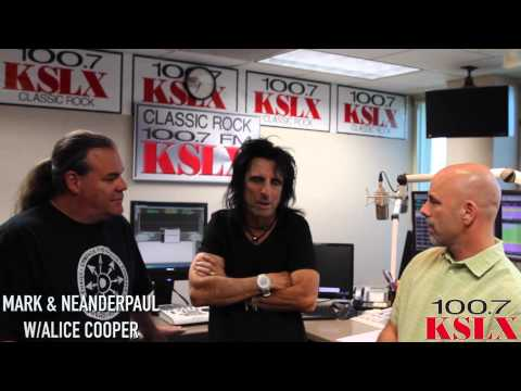 Alice Cooper Visits The KSLX Studios To Talk Motley Crue Concert