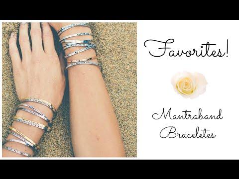99609d533e7 Mantraband Bracelets Review! - YouTube