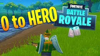 HOW WE WENT FROM 0 TO HERO! - FORTNITE FUNNY MOMENTS (Fortnite Battle Royale)