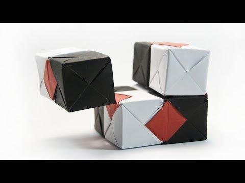 DIY Paper INFINITY CUBE