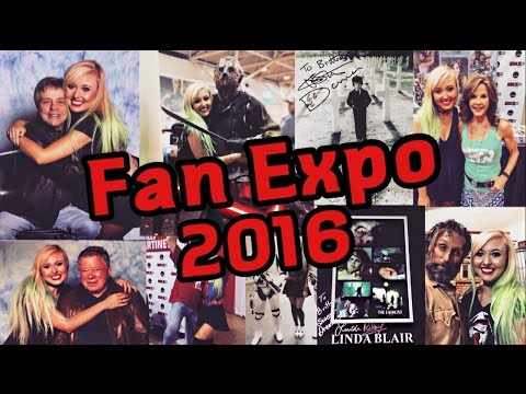 EXPO 2016: MEETING MARK HAMILL, LINDA BLAIR, WILLIAM SHATNER!
