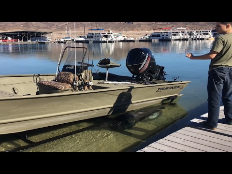 Best Jon Boat 2017: Grizzley 2072 CC All-Welded - 90HP Mercury - Utility Boat