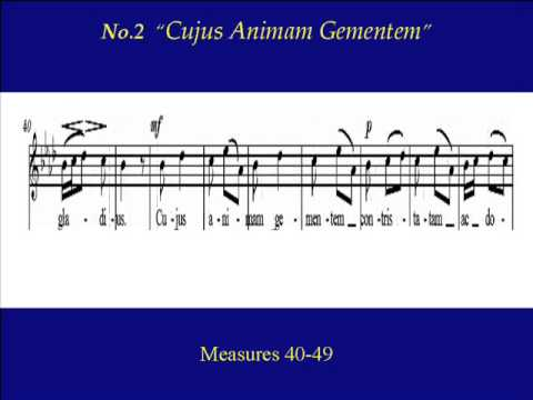 Soprano Pergolesi Stabat Mater 2 Cujus Animam