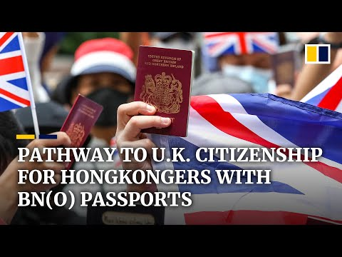 Hongkongers with BN(O) passports could be eligible for UK citizenship if China imposes security law