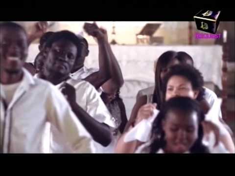 Dj Xpliph recieves the best Video Jockey Award on Gh one with Berla