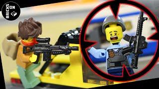 Lego FULL MOVIE Bank Robbery Hospital Heist Flash Shock Crazy Compilation Police Catch Crooks