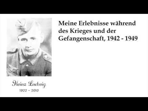 Meine Erlebnisse während des Krieges und der Gefangenschaft, 1942 - 1949