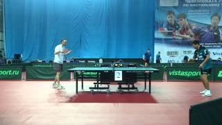 Пинг-понг тренировка Шмырёва и Смирнова