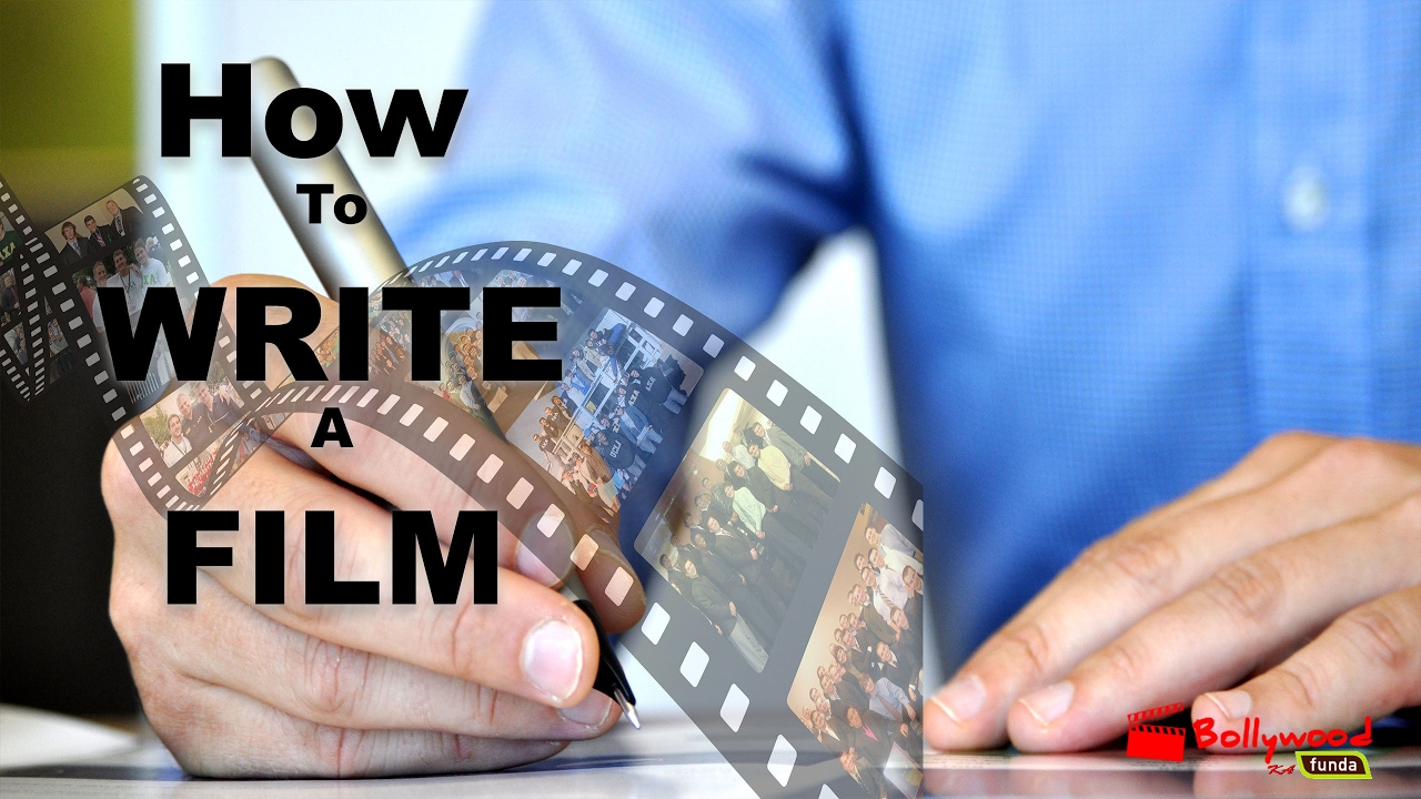how to write a film story in hindi