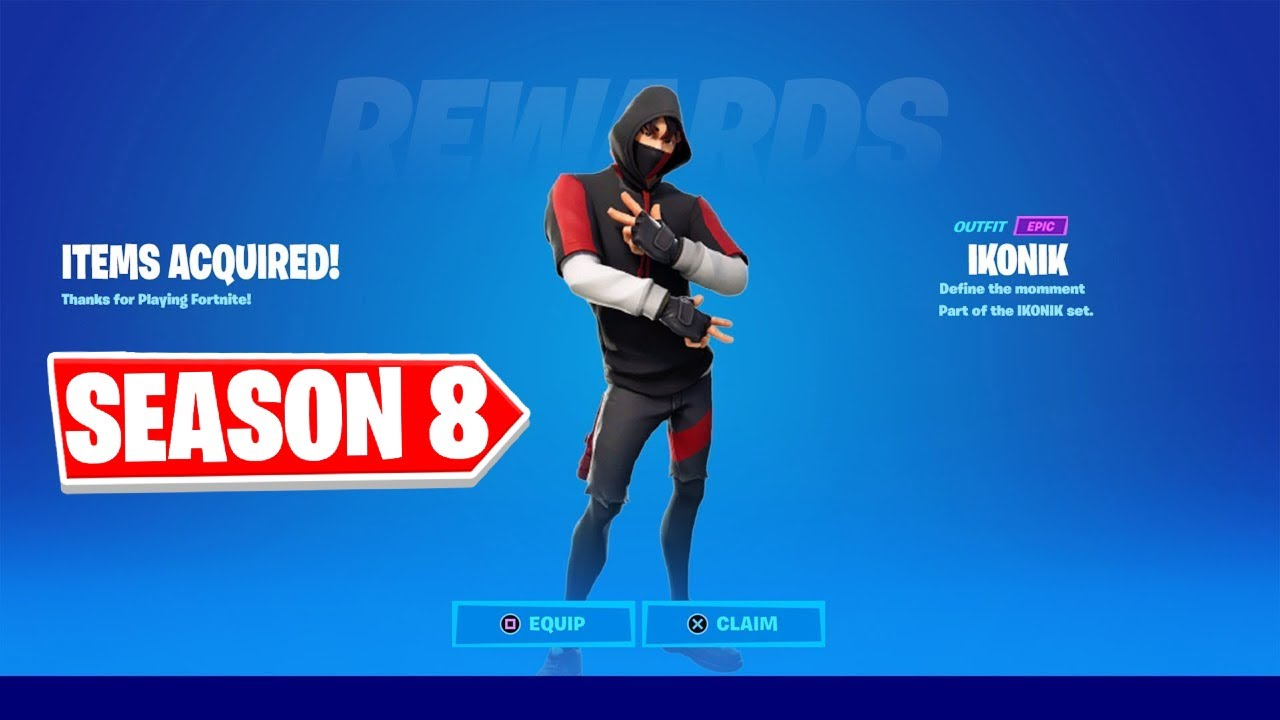 Download HOW TO GET THE iKONIK SKIN FOR FREE IN FORTNITE CHAPTER 2 SEASON 8!